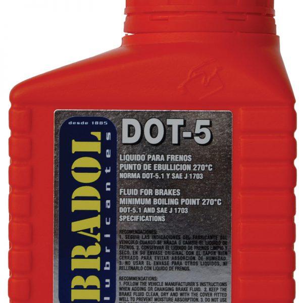 Líquido de frenos BRADOL DOT5 sintético