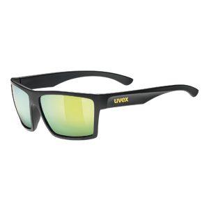 Gafas Uvex LGL 29 negro mate amarillo