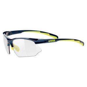 Gafas Uvex 802 Vario azul amarillo