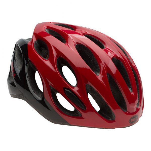 Casco Bell Draft rojo negro