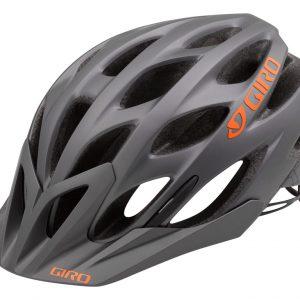 Casco Giro Phase gris mate naranja