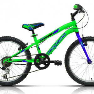 BICICLETA INFANTIL MEGAMO 20″ OPEN JUNIOR GREEN
