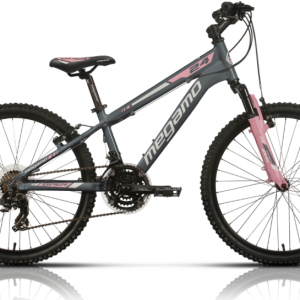 BICICLETA infantil MEGAMO 24″ OPEN JUNIOR GREY
