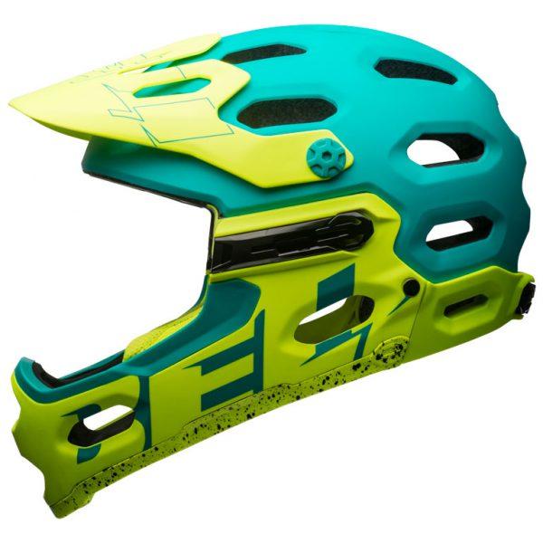 Casco Bell Super 3R esmeralda verde