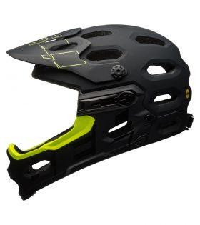 Casco Bell Super 3R MIPS 2017 negro mate verde