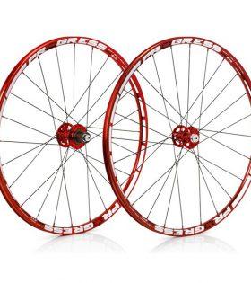 "Juego de rueda MTB Progress XCD EVO 29"" Rojas 2016"
