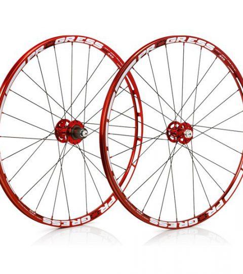 Juego de rueda MTB Progress XCD EVO 29 Rojas 2016