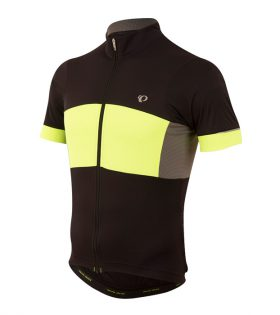 MAILLOT MANGA CORTA ELITE ESCAPE SEMI-FORM NEGRO/AMARILLO