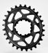 Plato Oval SRAM Direct Mount GXP Absolute Black