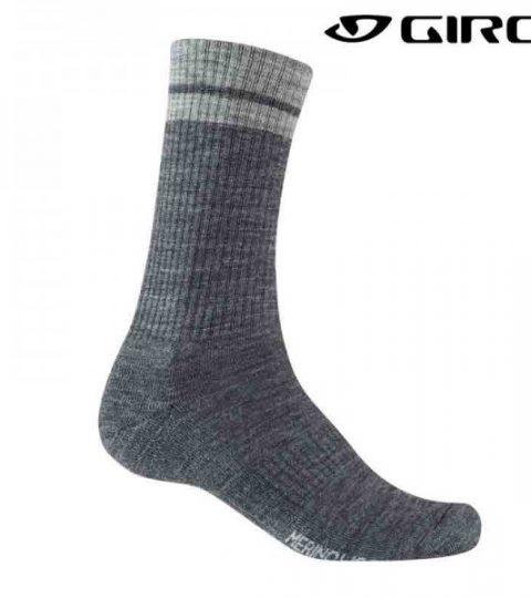 calcetines giro merino gris