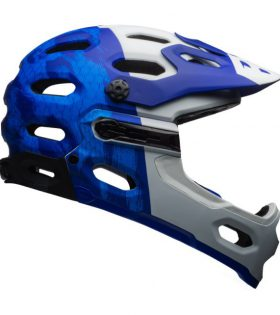 casco bell super 3r azul