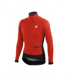 chaqueta castelli alpha jacket rojo