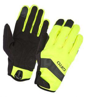 guantes giro ambient gel amarillo fluor
