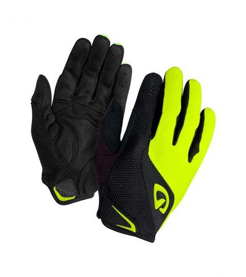guantes giro bravo lf gel amarillo