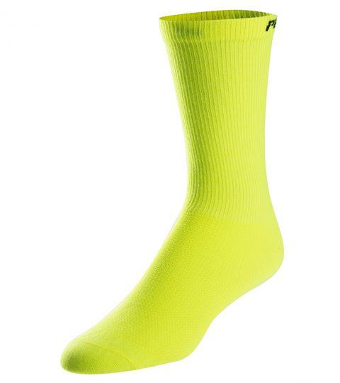 calcetines altos pearl izumi attack amarillo fluor