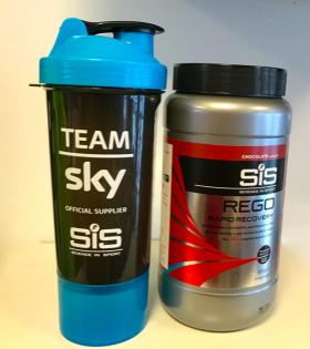 Pack Recuperador Rego Recovery y Bote Mezclador Team Sky