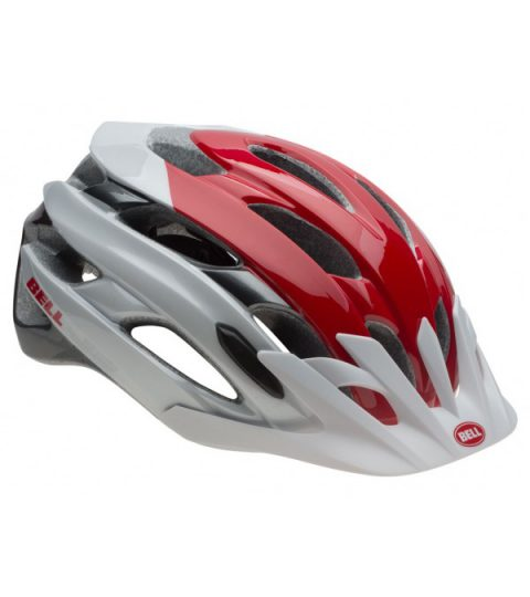casco bell event xc rojo blanco