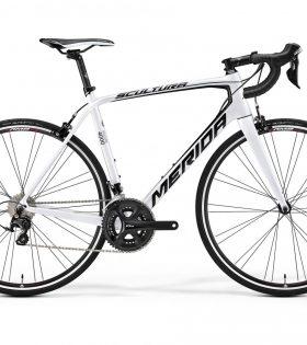 Bicicleta Carretera Merida Scultura 4000 Blanco Negro