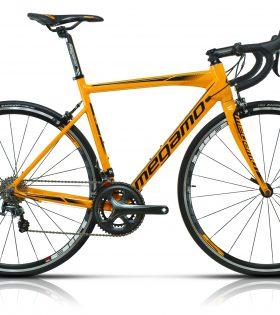 Bicicleta Carretera Megamo R10 Tiagra Naranja