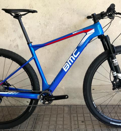 Bicicleta BMC Teamelite 02 XT Blue Talla M