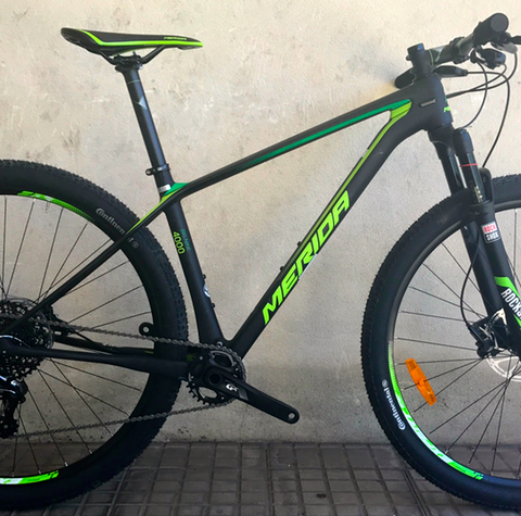 Bicicleta Merida Big Nine 4000 carbon ED GX 1×11