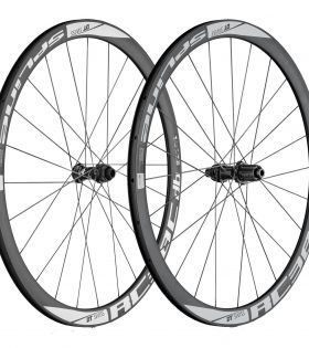 Juego de ruedas DT Swiss RC 38 Spline Disc para cubierta (Shimano)