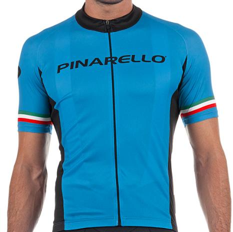 Maillot Pinarello Strada Sky Azul