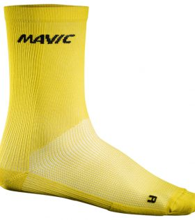 Calcetines Mavic Cosmic High Sock amarillo