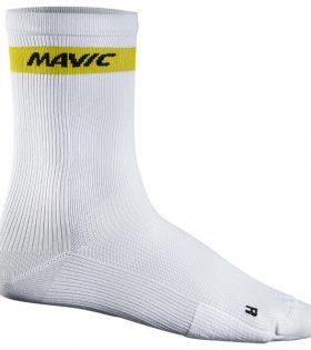 Calcetines Mavic Cosmic High Sock blanco