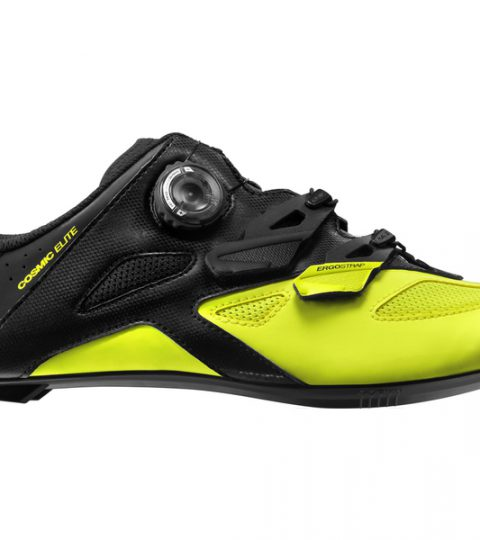 Zapatillas Mavic Cosmic Elite 2017 negro amarillo