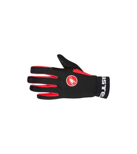 guantes castelli SCALDA GLOVE negro rojo