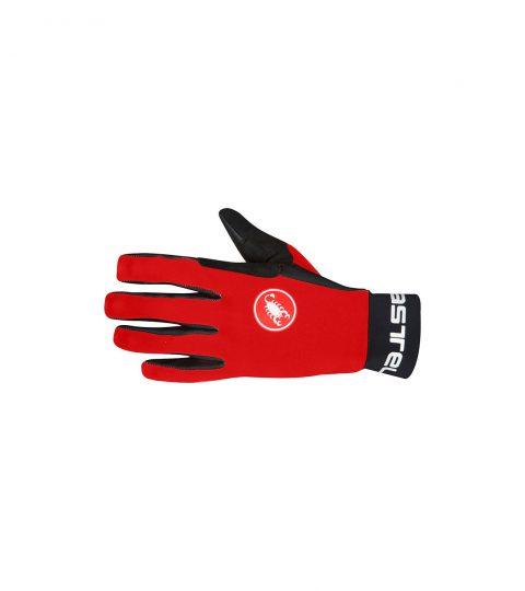 guantes castelli SCALDA GLOVE rojo