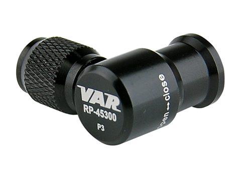 Regulador de cartuchos CO2 VAR con rosca Presta y Schrader