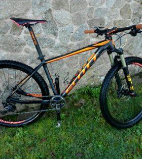 Bicicleta Scott Scale 740 talla M (2016) segunda mano