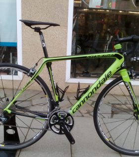 "Bicicleta Cannondale Synapse Hi-Mod Ultegra 2015 talla 54"" (segunda mano)"