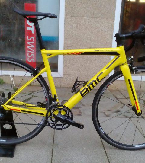 Bicicleta BMC SLR03 Ultegra 51″ amarilla (segunda mano)