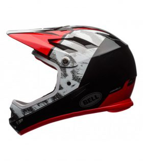 CASCO BELL SANCTION ROJO/BLANCO/NEGRO M