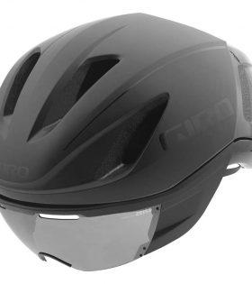 casco grio vanquish negro brillo