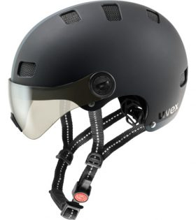 Casco Uvex City V negro S-M
