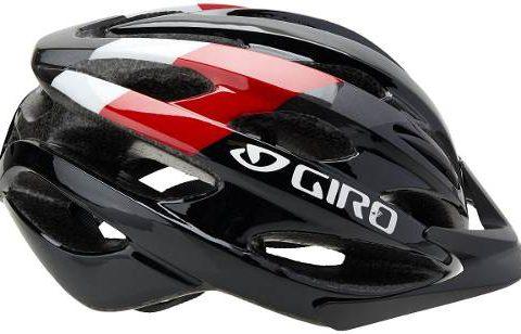 Casco Giro Revel negro-rojo talla U