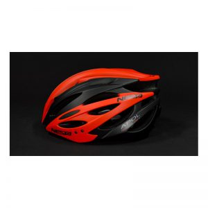 casco nesta apol negro y rojo
