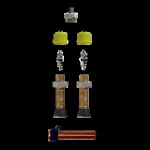Blíster 2 válvulas anchas Tubeless