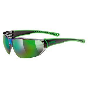 Gafas Uvex 204 verde negro
