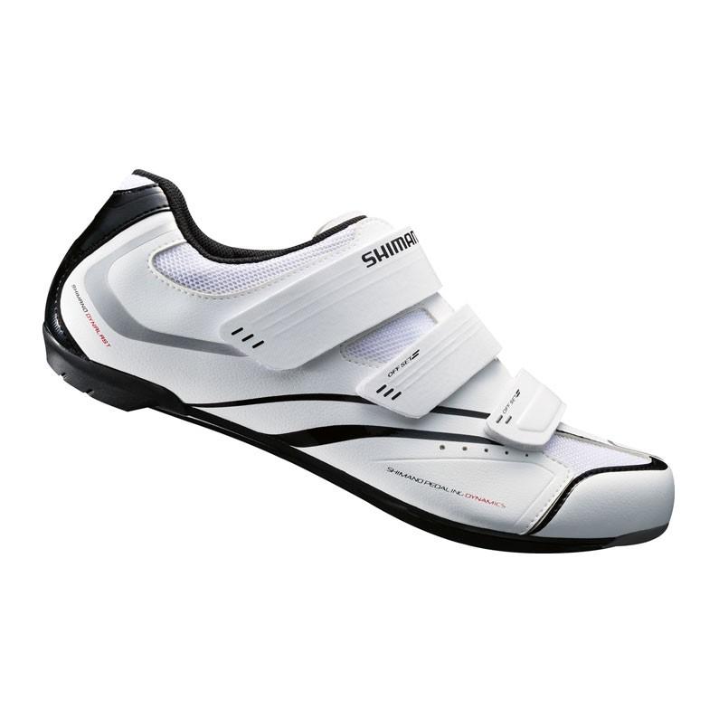 67e57bbf1 Zapatillas ciclismo Shimano R078 para carretera blanco - My Top Bike