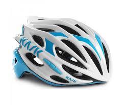 casco kask mojito blanco azul