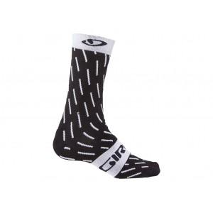 calcetines giro comp racer blanco negro