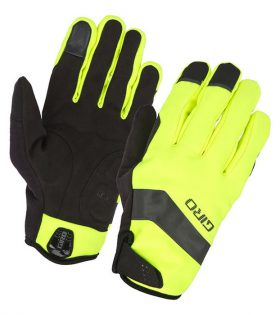guantes giro ambient gel amarillo fluor