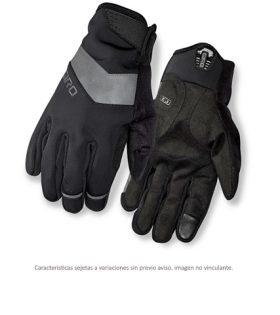 guantes giro ambient gel negro