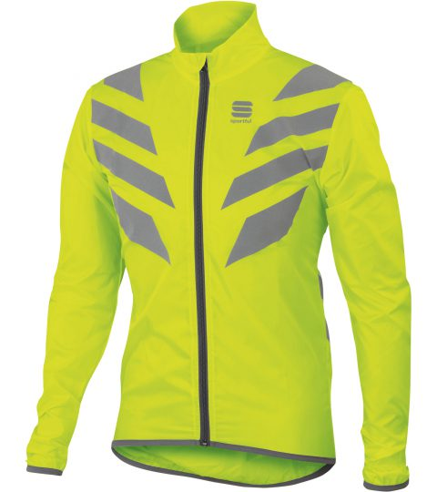 sportful reflex jacket amarillo fluor