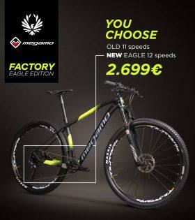 Bicicleta MTB Megamo Factory 10 Eagle 1x12